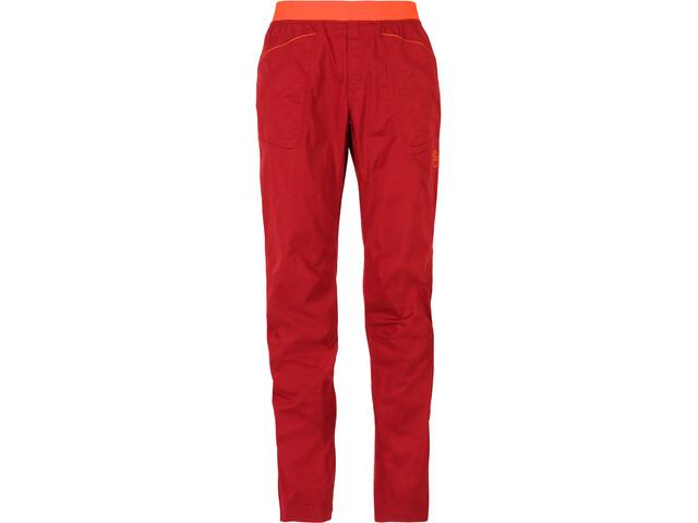 La Sportiva Roots Pantalones Hombre, chili/pumpkin